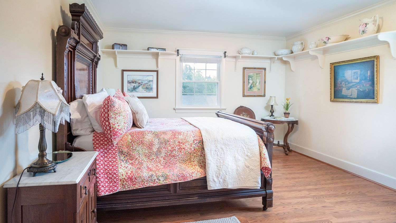 Double Bed Victorian Guest Room in the Farmhouse