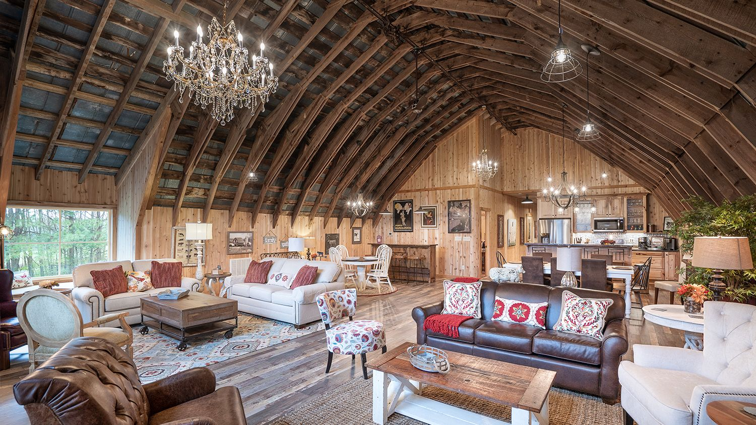 Dairy Barn Living Room
