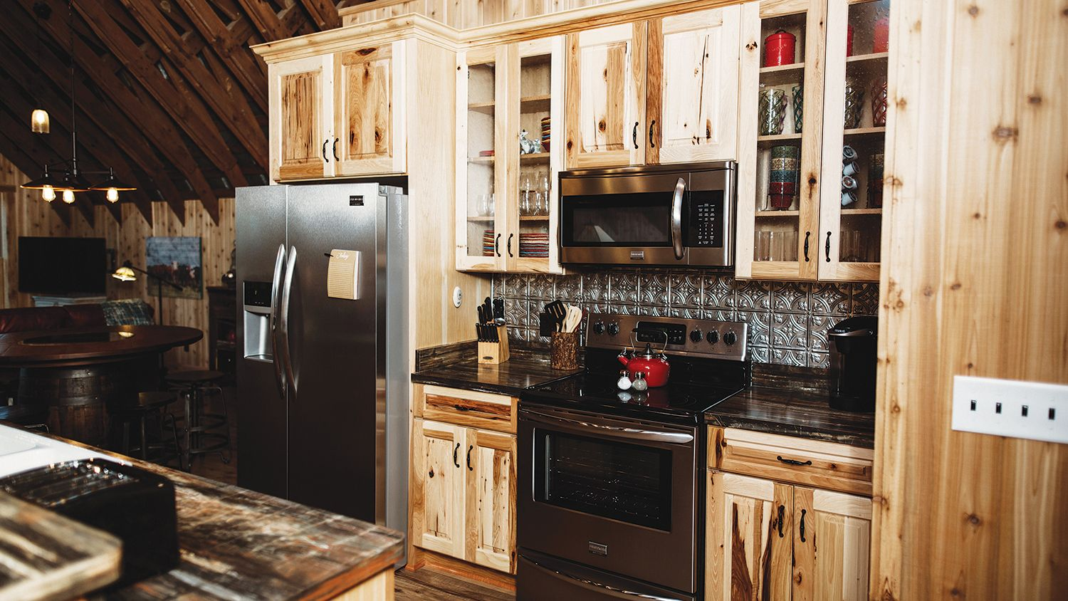 Hay Barn Loft Kitchen