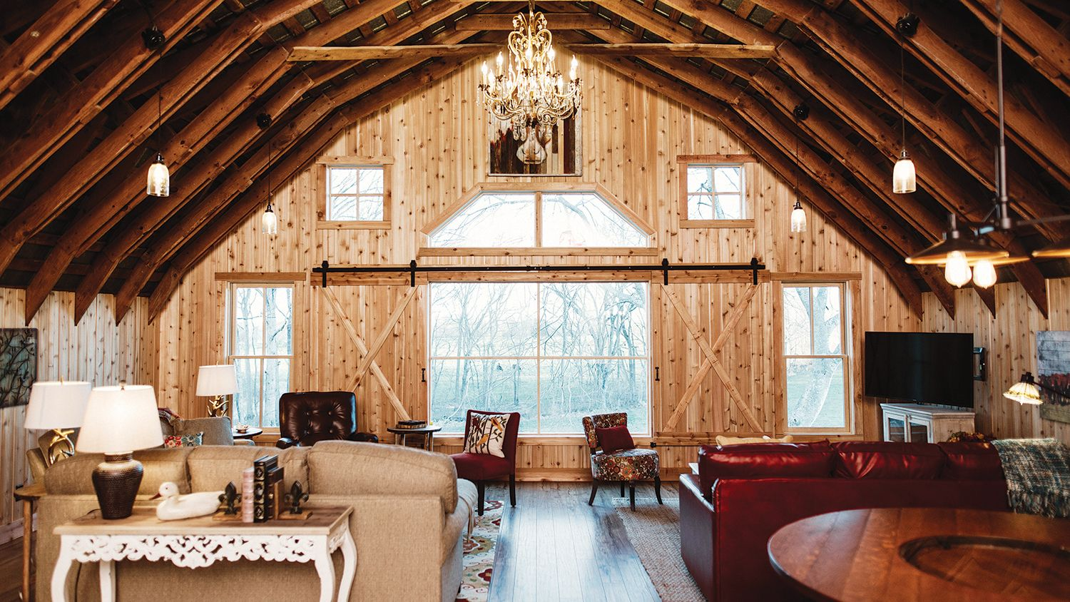Hay Barn Loft  Living Room