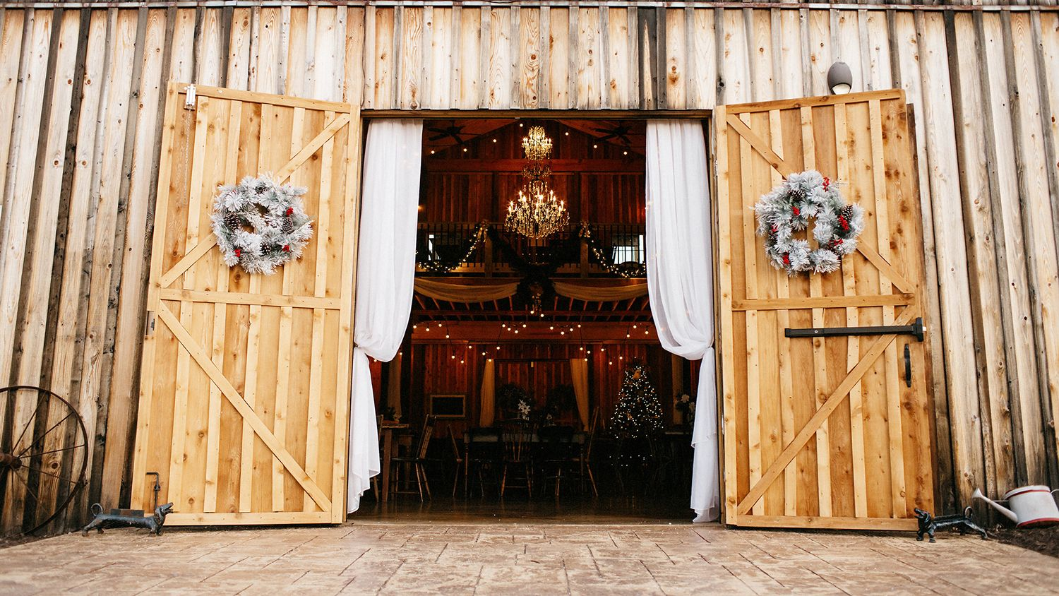 Reception Hall Entrance Christmas