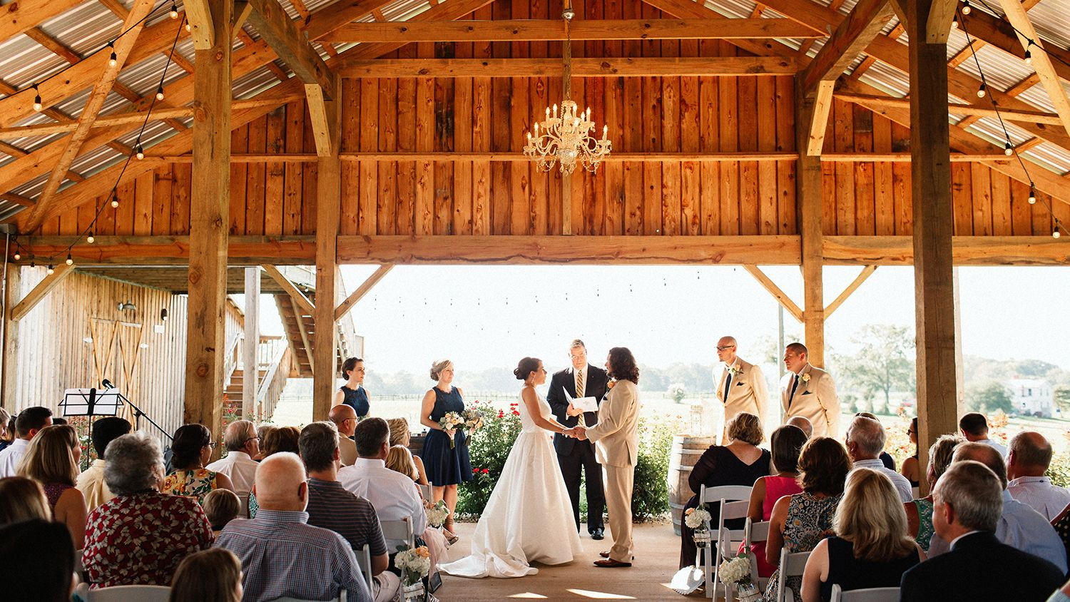 Wedding Ceremony Open Pavilion